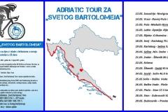 ADRIATC TOUR ZA BARTOLOMEJA - SAVUDRIJA - PREVLAKA