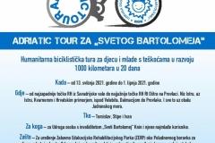 ADRIATIC TOUR ZA SVETOG BARTOLOMEJA - LETAK - 1000 -